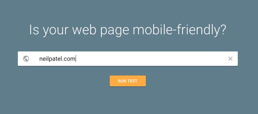 Используйте Google Mobile Mobile Testing Tool, чтобы убедиться, что сайт Интернет-магазина хорошо оптимизирован
