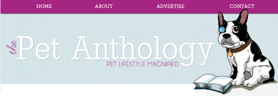 Заголовок блога The Pet Anthology